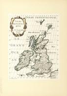 Landkarten Und Stiche: 1734. Isles Britanniques, P. N. Sanson Le'fils Geographe Du Roy, By Nicolas S - Geographie