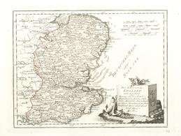 """Landkarten Und Stiche: 1789. """"Des Keonigreichs England Oestlicher Theil Oder Surrey, Sussez, Kent, S - Geographie"""
