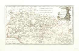 """Landkarten Und Stiche: 1789. """"Des Koenigreichs Sevilla Nordwestliche Theil"""" From Schauplatz Der Funf - Geographie"""