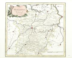 """Landkarten Und Stiche: 1789. """"Ostflandern"""" From """"Schauplatz Der Funf Theile Der Welt"""", Franz Johann - Geographie"""