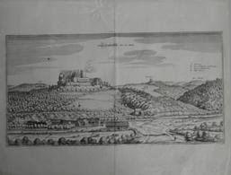 Landkarten Und Stiche: 1650 (ca): Original Antique View Of Mathias Merian Of The German Town Of Scha - Geographie