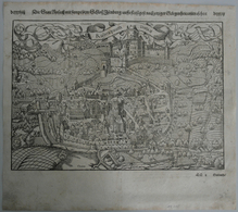 Landkarten Und Stiche: 1548 (ca.): Original Antique Map Of Rusach (Rouffach) In Alsace -- Currently - Geographie