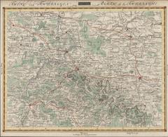 Landkarten Und Stiche: 1812 (ca): Original, Period Copperplate Map Of The Thueringen / Thuringia Ger - Geographie