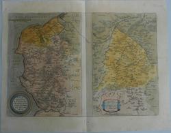 Landkarten Und Stiche: 1584 (ca.): Caletensium Et Bononiensium Ditionis Accurata Delineatio [with] V - Geographie