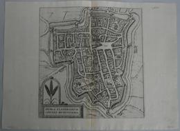 Landkarten Und Stiche: 1588 (ca.) Hypra Flandriarum Civitas Munitissima... - Braun And Hogenberg, Fr - Geographie