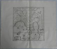 """Landkarten Und Stiche: 1695 (ca.): """"Tab.XI Asiae Comprehendens Indiam Extra Gangem"""". Beautiful Fresh - Geographie"""