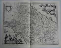 Landkarten Und Stiche: 1647 (ca.): Gastinois Et Senonois, Guiljelmus Blaeu., Ca 1647. Plate Mark Ca - Geographie