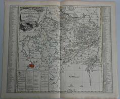 """Landkarten Und Stiche: 1757 (ca.): """"Accurate Geogr. Delineation Des Zu Dem Thuringischen Creis Gehor - Geographie"""
