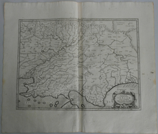 """Landkarten Und Stiche: 1695 (ca.): """"Tab.XI Asiae Comprehendens Indiam Intra Gangem"""". Beautiful Fresh - Geographie"""
