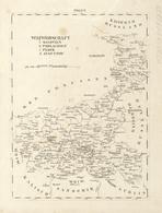 Landkarten Und Stiche: 1829. Copper Engraving Of Poland Duchies From Russia North To Kalisch, Sandom - Geographie