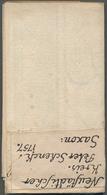Landkarten Und Stiche: 1757, Accurate Geographische Delineation Des Zu Dem Churfüˆrstenth Sachsen Ne - Geographie