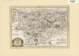 Landkarten Und Stiche: 1734. Perchensis Comitatus La Perche Comte From The Mercator Atlas Minor Ca 1 - Geographie