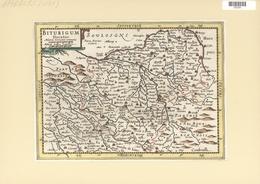 Landkarten Und Stiche: 1734. Biturigum Dicatus. From The Mercator Atlas Minor Ca 1648, Later Altered - Geographie