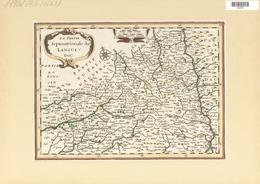 Landkarten Und Stiche: 1734. La Partie Septentrionale Du Languedoc. From The Mercator Atlas Minor Ca - Geographie