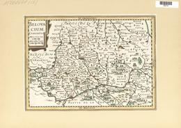 Landkarten Und Stiche: 1734. Belovacium Comitatus. Map Of The Beauvais Region Of France, Published I - Geographie