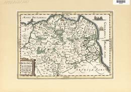 Landkarten Und Stiche: 1734. Bolonia & Guines Comitatus, Published In The Mercator Atlas Minor 1734 - Geographie