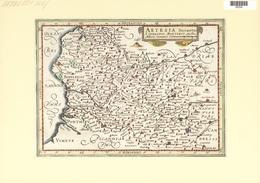 Landkarten Und Stiche: 1734. Artesia Descriptio, Published In The Mercator Atlas Minor 1734 Edition. - Geographie