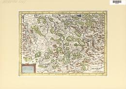 Landkarten Und Stiche: 1734. Lorraine Vers Le Midy, Published In The Mercator Atlas Minor 1734 Editi - Geographie