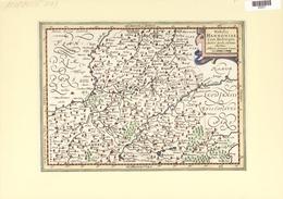 Landkarten Und Stiche: 1734. Nobilis Hannoniae Com.Descriptio Auctore Jacob Surbonio Montana, By Jac - Geographie