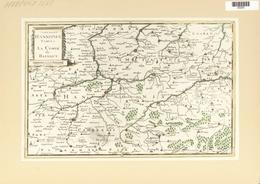 Landkarten Und Stiche: 1734. Comitatus Hannoniae Tablue / La Comte De Hainaut, Published In The Merc - Geographie