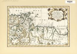 Landkarten Und Stiche: 1734. Partie De Barbarie, Ou Sont Les Royaumes De Tunis, Et Tripoli; By A.d W - Geographie