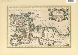 Landkarten Und Stiche: 1734. Partie De Barbarie, Ou Sont Les Royaumes De Tunis, Et Tripoli; By Nicol - Geographie