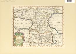 Landkarten Und Stiche: 1734, Turcomanie Georgie Commanie. Map Of The Caucasus Area Under Turkish Rul - Geographie