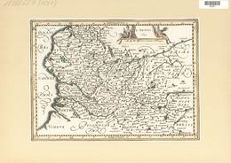 Landkarten Und Stiche: 1734. L'Artois. From The Mercator Atlas Minor Ca 1697, Later Altered By Nicol - Geographie