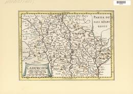 Landkarten Und Stiche: 1734. Cadurcium. From The Mercator Atlas Minor Ca 1648, Later Altered By Nico - Geographie