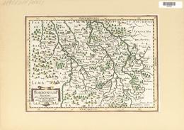 Landkarten Und Stiche: 1734. Borbonium Ducatus. From The Mercator Atlas Minor Ca 1648, Later Altered - Geographie