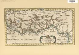 Landkarten Und Stiche: 1699. Map Of The Coast Of Guinee Including Gulf Of Benin, Part Of Nigeria, Et - Geographie