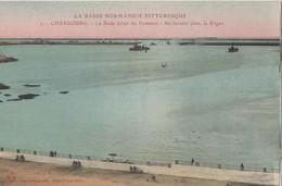 CPA 50. CHERBOURG. La Rade. Jetée Du Hommet - Cherbourg