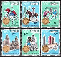 277/82** (?)  Médailles Aux Jeux Olympiques De Mexico - Bonnes Valeurs - MNH** - LOOK!!!! - 1962-69: Neufs