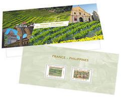 France 2017 - Yv N° PEC 5160 P - France - Philippines - (sous Blister) - Souvenir Blocks