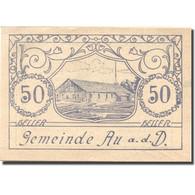 Billet, Autriche, Au A.d D, 50 Heller, Scierie 1920-05-30, SPL Mehl:FS 64 - Oesterreich