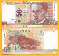 Peru 50 Nuevos Soles P-189 2012 UNC Banknote - Perù
