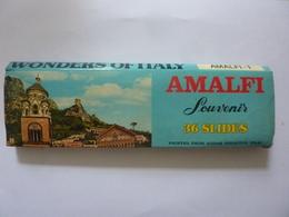 AMALFI Souvenir 36 SLIDES Printed From Kodak Negative Film - Diapositive