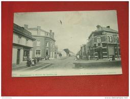 TRAZEGNIES  -  Route De Gosselies     -   1919    - - Courcelles