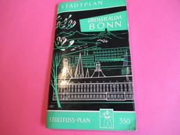 Plan De Ville/ Stadtplan / Grossraum BONN/ Stollfuss-Plan/ Vers 1960   PGC280 - Dépliants Touristiques