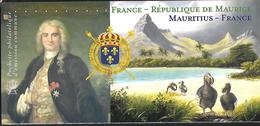 France 2015 - Bloc Souvenir  (sous Blister) - France - République De Maurice (Bertrand-François Mahé) - Souvenir Blocks & Sheetlets