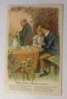 Frauen, Männer, Liebe, 1905,   Prägekarte    ♥  - Künstlerkarten