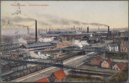 Ansichtskarten: Nordrhein-Westfalen: OBERHAUSEN, WESEL, EMMERICH, BORKEN, BOCHOLT, HATTINGEN, MÜLHEI - Duitsland