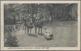 Ansichtskarten: Nordrhein-Westfalen: SÜDWESTWESTFALEN (alte PLZ 57-59), Menden, Arnsberg, Meschede, - Duitsland