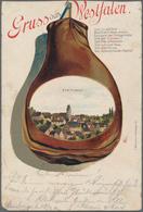 Ansichtskarten: Nordrhein-Westfalen: WESTFALEN (alte PLZ 34, 35, 45, 46, 47, 48 Und 49), Umfangreich - Duitsland