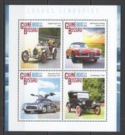 ST1153 2014 GUINE GUINEA-BISSAU TRANSPORT LEGENDARY CARS 1KB MNH - Voitures