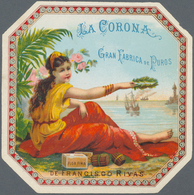 Varia (im Ansichtskartenkatalog): TABAK & ZIGARREN-ETIKETTEN, 29 Sehr Dekorative Etiketten Mit Zum T - Andere Sammlungen