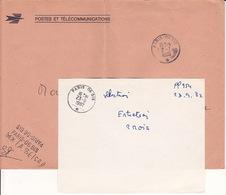 Rare Oblitération TàD Manuel Bureau Gérance Gratuite PARIS 06 BIS - SRD Le Plessis Robinson (Devenu CCBE S) - Marcofilia (sobres)