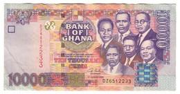 Ghana 10000 Cedis 04/08/2003 - Ghana