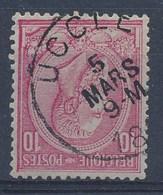 "OBP Nr 46 - Leopold II - Cachet  ""UCCLE"" - (ref. ST 1153) - 1884-1891 Léopold II"