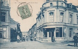 ***  59  ***  AULNOYE  Rue De La Gare - TTBE - Aulnoye
